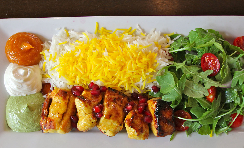 chicken-breast-kabob-basmati-saffron-rice